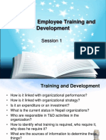 Unit 4 Employee Training and Development