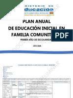 PLAN ANUAL TRIMESTRAL  PRIMER AÑO DE ESCOLARIDAD (1)
