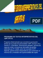 PTI 16 Modelo de competencias con los 16 factores