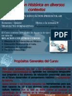La educación Histórica  en Diversos . contextos 5 PREE (1)