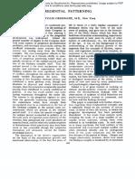 Greenacre, P. - PREGENITAL PATTERNING