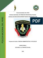 SILABO CODIGO PENAL-I