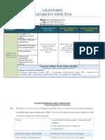 Calendario Unidad 1 CSEM-S2 B1-2019