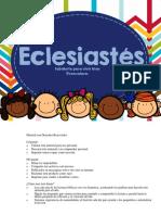 Eclesiastés preschool