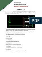 tarefa 4.1 - exercicio resolvido_estruturas metálicas