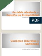 Variable Aleatoria Función de Probabilidad.pptx