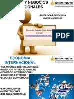 1. Bases de Economia Internacional