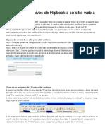 Cómo subir archivos de Flipbook a su sitio web a través de FTP.docx