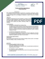 Estadistica, Material de apoyo 1er Parcial 2016-2