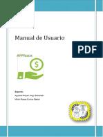 Ejemplo de Manual un software