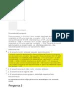 evaluación clase 1dirección de proyectos II