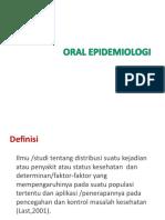 ORAL EPIDEMIOLOGI- 2019