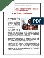 2.-LA METODOLOGÍA DE JESUCRISTO Y OTRAS METODOLOGÍAS - follleto