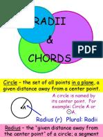 circles, secants & tangents