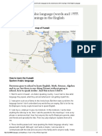 Basic Kuwaiti Arabic language (words and phrases) with meanings in the English Language.pdf