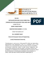 virtualization synopsis (1)