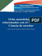 8 Metodologías relacionadas con el arte y la ciencia de enseñar Cuba 2012