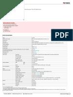 SL-C20H Datasheet