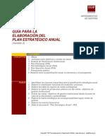 G8 - PEA Guia para la elaboracion del plan estrategico anual.pdf