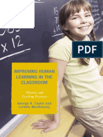 George R. Taylor - Improving Human Learning in the Classroom_ Theories and Teaching Practices-Rowman & Littlefield Education (2008).pdf
