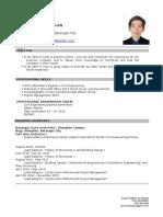 resume (allen robert wagan)