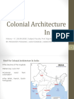 15. Colonial Architecture In India