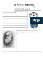 Evolution and Natural Selection Unit Assessment for Educators and Secular Homeschoolers - Download unit at www. science powerpoint .com