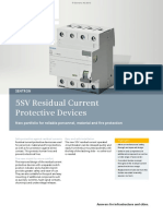 5SV Residual Current Protective Devices