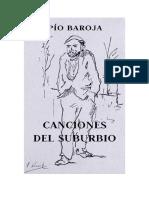 Baroja Pio - Canciones Del Suburbio.doc