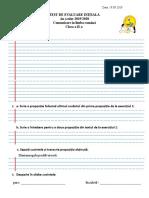 Evaluare iniţială II CLR.doc