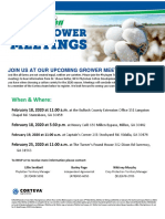 Phytogen Grower Meeting Invite 2020