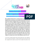 Come Together @ Space Ibiza Closing Party Press Release 20100907