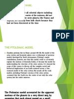 Ptolemy's model