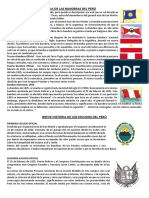 BREVE HISTORIA DE LAS BANDERAS DEL PERÚ