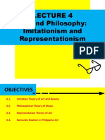 Lecture 4 Art and Philosophy Imitationism and Representationism.pptx