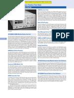 MONITOR SERVICIO E8285A Datasheet