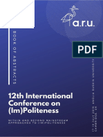 2019_12th International Conference on (Im)politeness