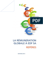 La remunération globale chez EDF