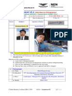 Assignment 2 025 maharaj dey (NEW 201 PGDM 1921 ) Section A.docx