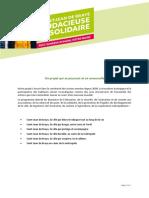 Programme Vanessa Slimani 2020