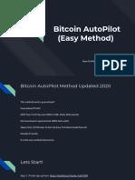 Bitcoin AutoPilot (Easy Method)