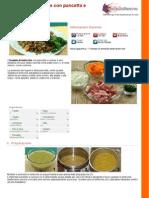 Insalata Di Lenticchie Con Pancetta e Verdure
