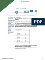 CNPP - Pensia anticipată parțială