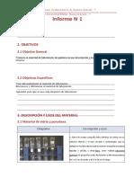 Práctica N° 1. Reconocimiento del material de Laboratorio