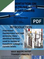 Presentation on Instrument Transformers (2).pptx