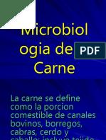 Microbiologia de la carne. Isabelana Finol, Daniel Rincon y Rafael Chacin.ppt