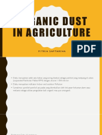 ORGANIC DUST IN AGRICULTURE
