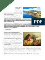 Leyenda del lago titicaca