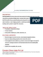 WATERGUARD 45 (Acrylic waterproofing coating)