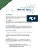 Hepatitis c Brochure